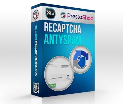 reCaptcha - zabezpieczenie przed spamem z kontaktu