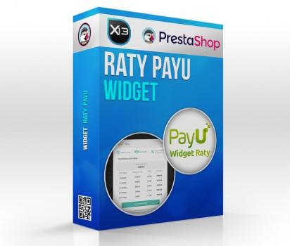 Widget ratalny PayU na karcie produktu