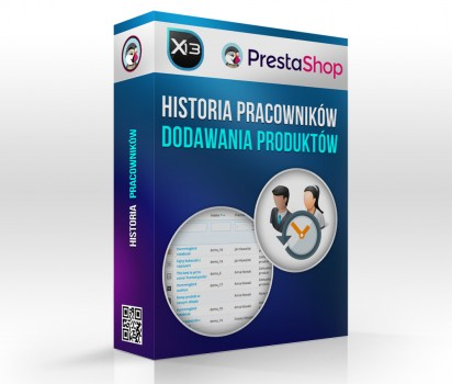 Historia pracownika - monitor dodawania i edycji produktów