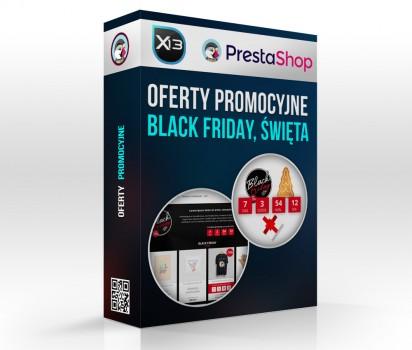 Oferty promocyjne - black friday, święta i wyjątkowe dni