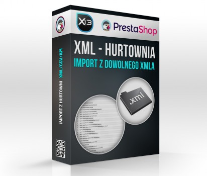 Import Hurtowni / XML do PrestaShop