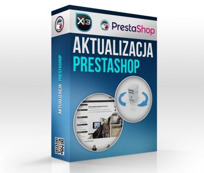 Aktualizacja PrestaShop do najnowszej wersji.