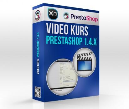 Video kurs obsługi PrestaShop 1.4.X