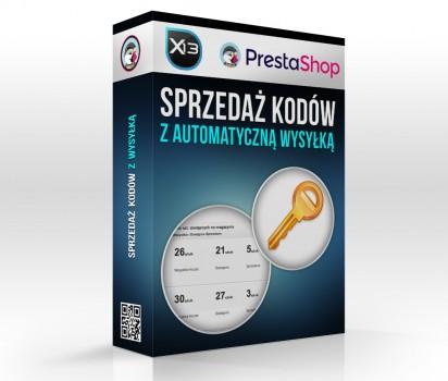 Sprzedaż kodów, cd key, serial, itp. - automatyczny moduł dla PrestaShop.