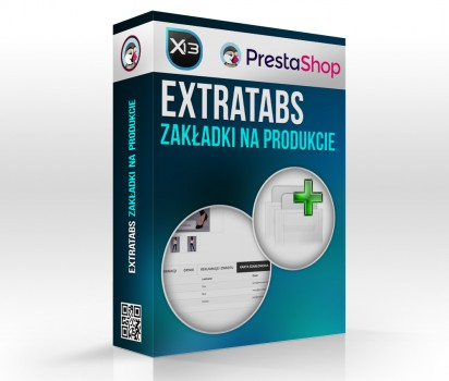Dodatkowe zakładki na stronie produktu - extraTabs