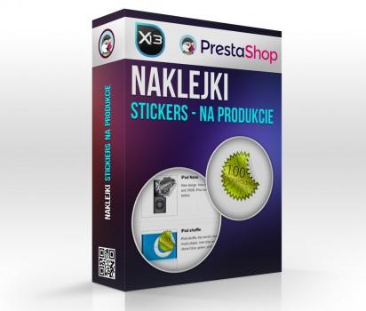 Stickers - naklejki na Produkcie