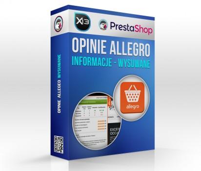 Opinie Allegro - informacje o użytkowniku