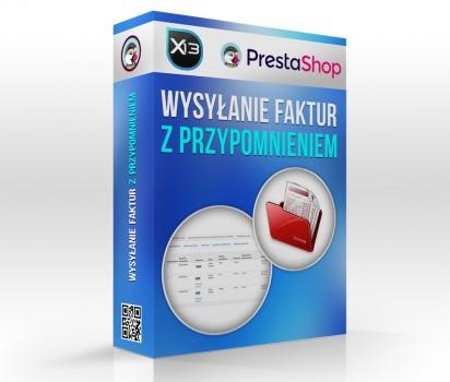 Faktury - moduł wysyłający faktury PrestaShop