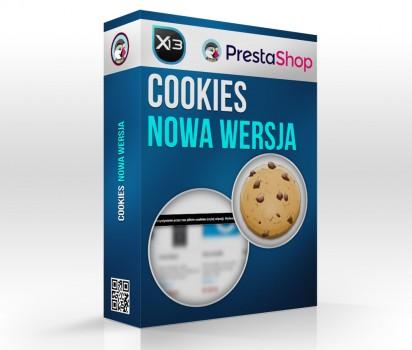Nowy Moduł Cookies PrestaShop PopUp