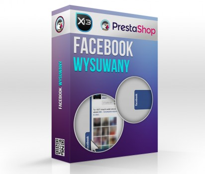 Wysuwany Facebook Like Box