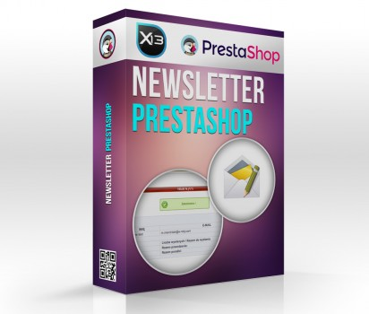 Moduł Newsletter PrestaShop 1.5 i 1.6