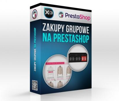 Skrypt zakupów grupowych PrestaShop